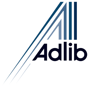Adlib Sound Lighting & Video Logo